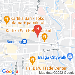 Mappa ARKEO HOTEL BANDUNG