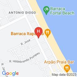 Mappa GOLDEN BEACH