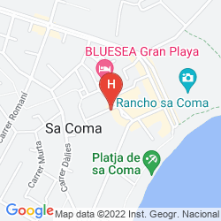 Mappa HIPOTEL MARFIL PLAYA