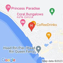 Mappa BURI BEACH RESORT