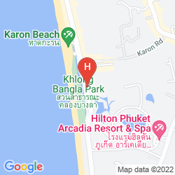 Mappa THE OLD PHUKET KARON BEACH RESORT