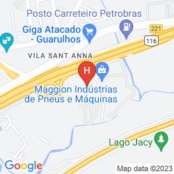 Mappa PANAMBY GUARULHOS