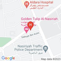 Mappa QASR NASRIYAH GOLDEN TULIP
