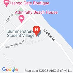 Mappa SUMMERSTRAND HOTEL