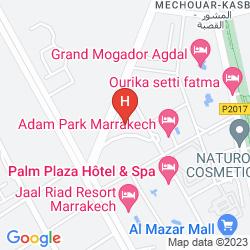 Mappa MOGADOR KASBAH