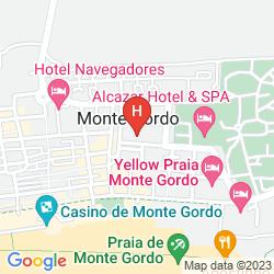 Mappa ALCAZAR HOTEL & SPA