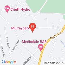 Mappa MURRAYPARK HOTEL