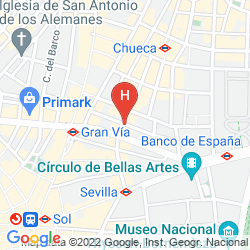 Mappa HOSTAL SAN LORENZO