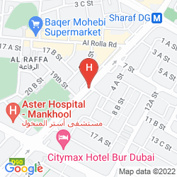 Mappa SAVOY SUITES HOTEL APARTMENTS