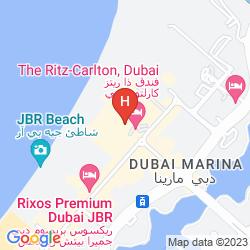 Mappa THE RITZ CARLTON, DUBAI