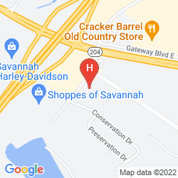 Mappa LA QUINTA INN SAVANNAH I-95