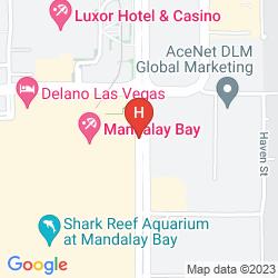 Mappa FOUR SEASONS HOTEL LAS VEGAS