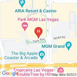 Mappa PARK MGM LAS VEGAS