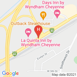 Mappa LA QUINTA CHEYENNE