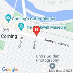 Mappa RADISSON - CORNING