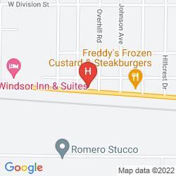 Mappa QUALITY INN