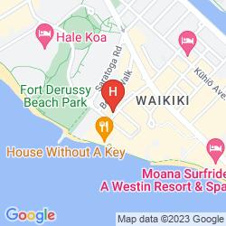 Mappa EMBASSY SUITES BY HILTON WAIKIKI BEACH WALK