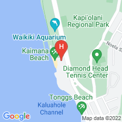 Mappa THE NEW OTANI KAIMANA BEACH HOTEL