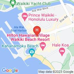 Mappa ILIKAI HOTEL & LUXURY SUITES