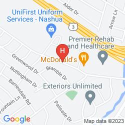 Mappa HOLIDAY INN NASHUA