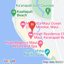 Mappa HYATT REGENCY MAUI RESORT & SPA