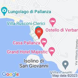 Mappa GRAND HOTEL MAJESTIC