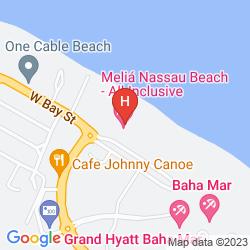Mappa MELIA NASSAU BEACH