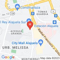 Mappa HOTEL AEROPUERTO