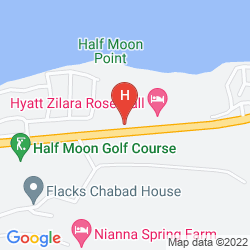 Mappa HYATT ZIVA ROSE HALL – ALL INCLUSIVE