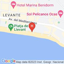 Mappa SANTA MARGARITA