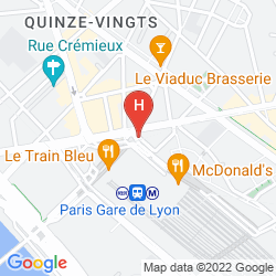 Mappa NOVOTEL GARE DE LYON