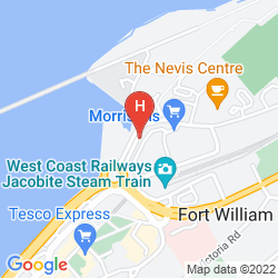 Mappa PREMIER INN FORT WILLIAM