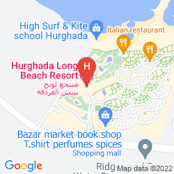 Mappa HURGHADA LONG BEACH RESORT