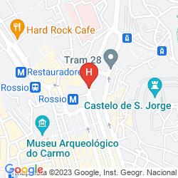 Mappa HM MUNDIAL TIMELESS CITY HOTEL