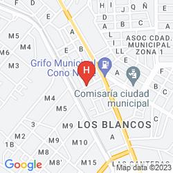 Mappa LIBERTADOR AREQUIPA