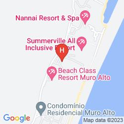 Mappa MARULHOS SUITES HOTEL