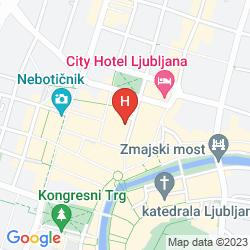 Mappa GRAND HOTEL UNION