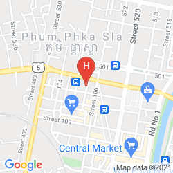 Mappa LUCKY HOSTEL