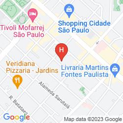 Mappa TRAVEL INN PARK AVENUE