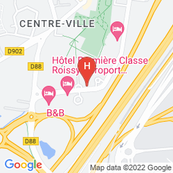 Mappa NOVOTEL CONVENTION & WELLNESS ROISSY CDG