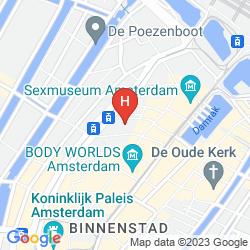 Mappa INNTEL HOTELS AMSTERDAM CENTRE