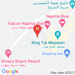 Mappa SHARM CLIFF RESORT