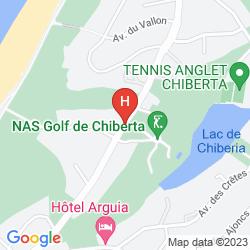 Mappa DE CHIBERTA ET DU GOLF