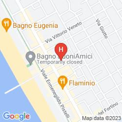 Mappa PARK HOTEL VILLA ARISTON