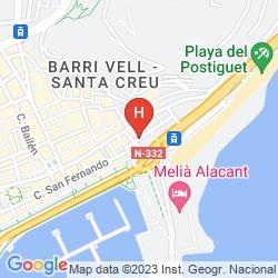 Mappa GRAVINA CINCO
