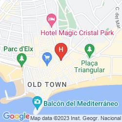 Mappa ESTUDIOS BENIDORM