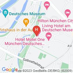 Mappa DERAG HOTEL MAX EMANUEL