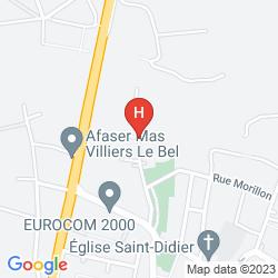 Mappa CAMPANILE PARIS NORD - ECOUEN LA CROIX VERTE