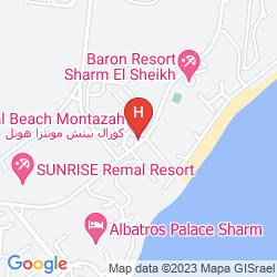 Mappa CORAL BEACH ROTANA RESORT-MONTAZAH
