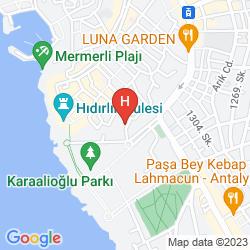 Mappa KARYATIT HOTEL SPECIAL